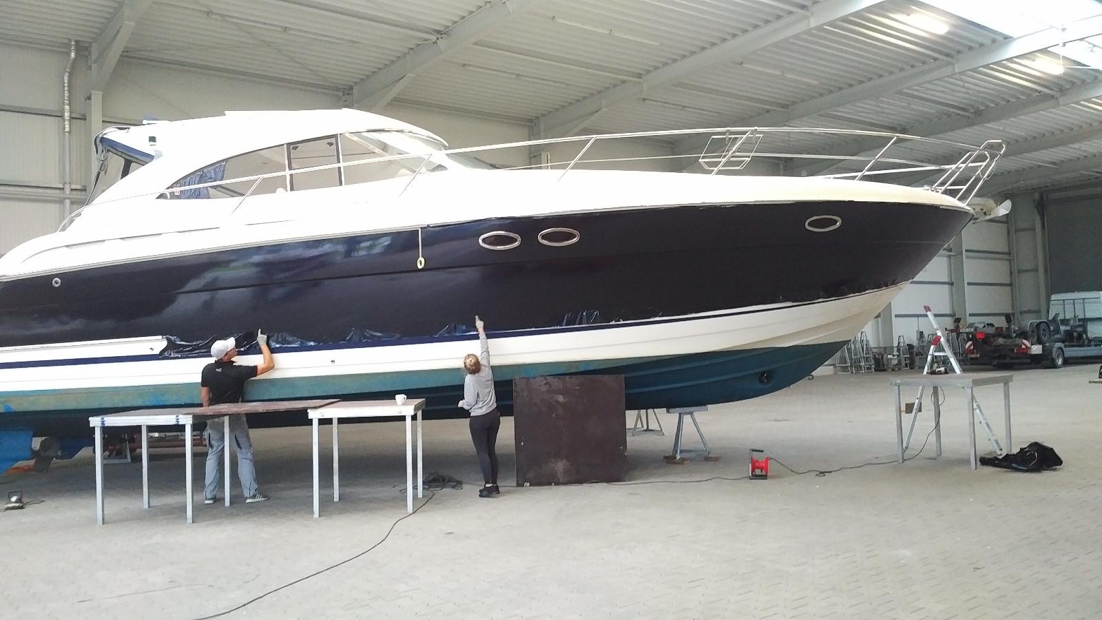 bavaria 42 ht rumpfrefit - yacht-folie.de